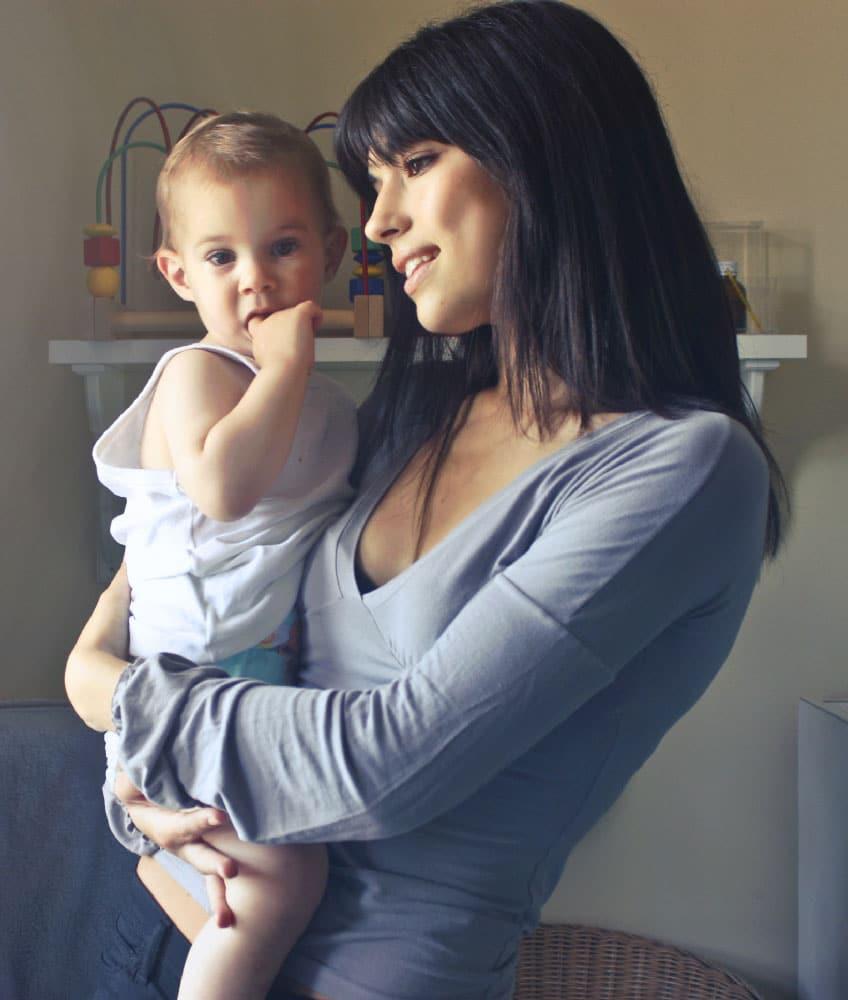 nounou à domicile et bébé